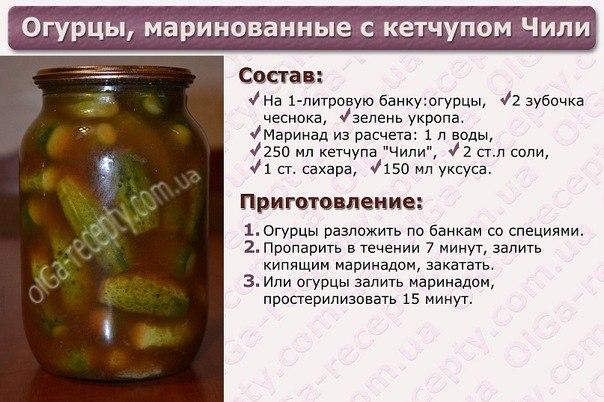 Рецепт маринованных огурцов на зиму