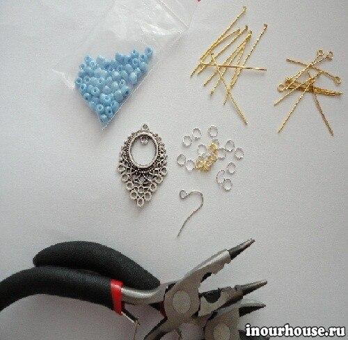 Для изготовления сережек своими руками 780