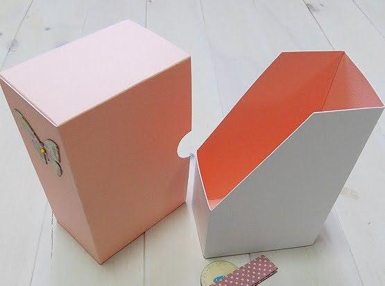 Коробочка под документы своими руками