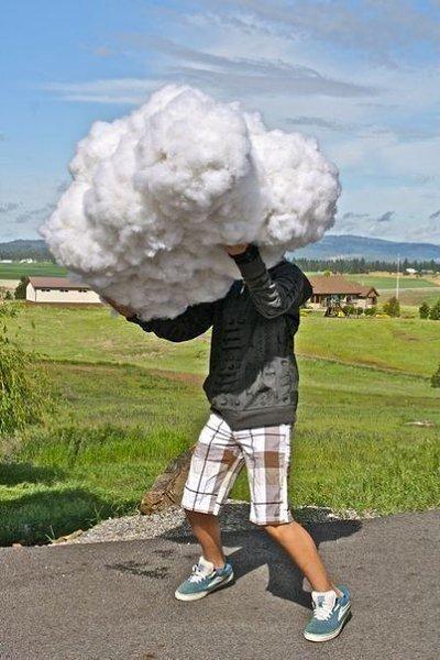 Как сделать облака из ваты своими руками 16