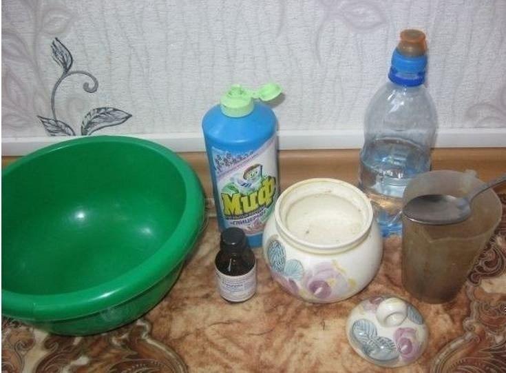 Как приготовить мыльную воду для пузырей