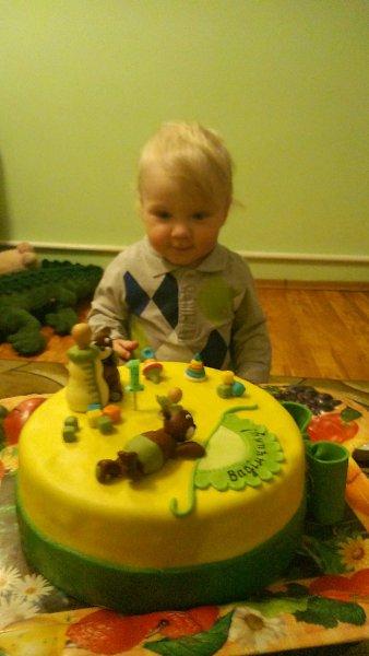 Фото: Вадимчику 1 годик - Бажена Вуйцык, 46 лет, Долина