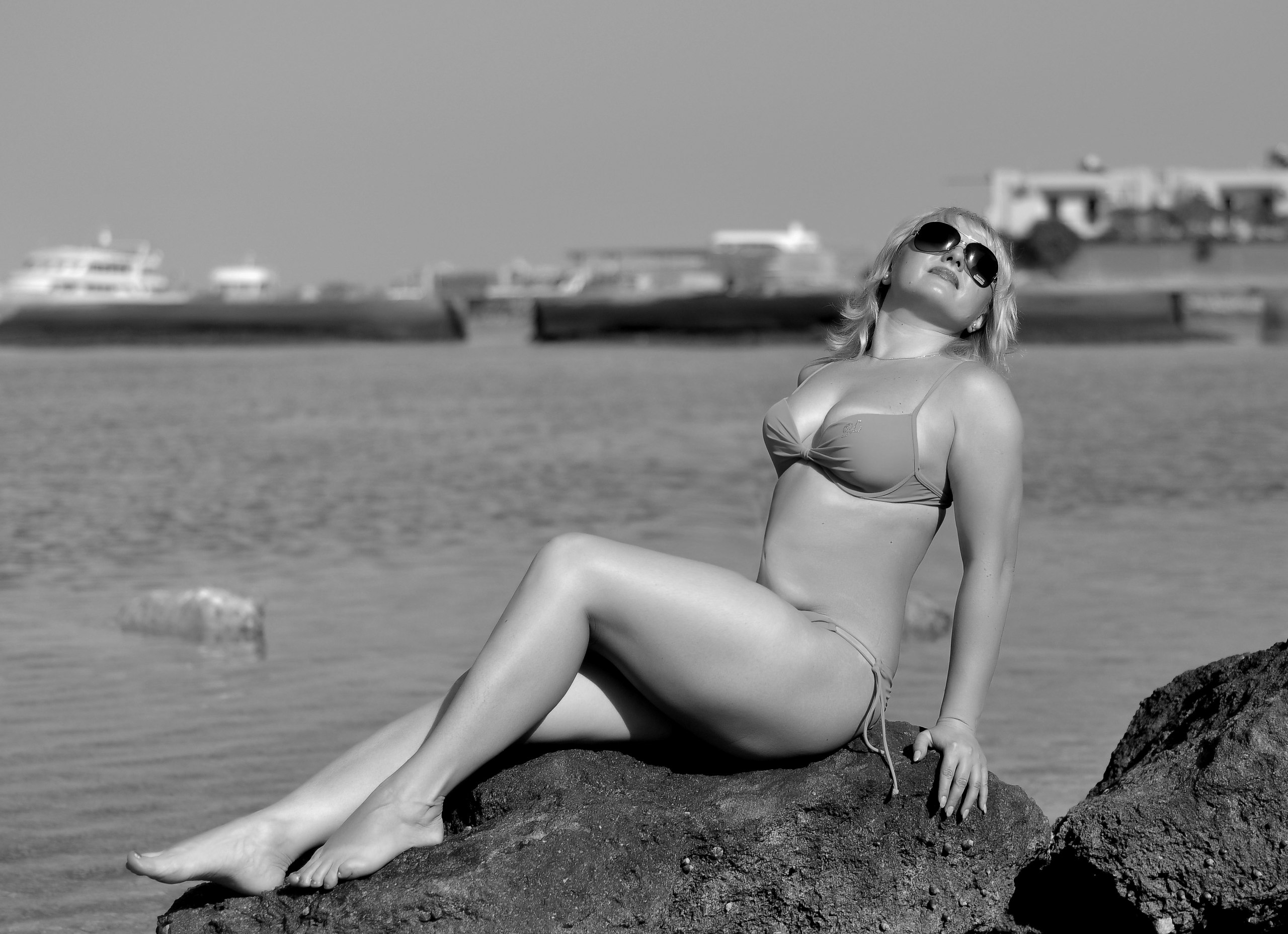 Черно-белые фото девушек (21 фото) - МАРГАРИТА, 45 лет, Салават