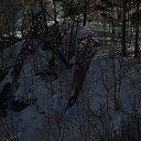поваленные селью электроопоры из альбома «Чегет-Эльбрус-Кисловодск»