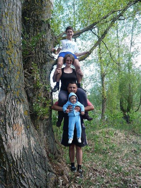 Фото - Моя семья: : Моя сестра, ее муж и их двое детей, мои племянники (самый маленький еще и мой крестничек!) - БРУНХИЛЬДА (K), 45 лет, Киев