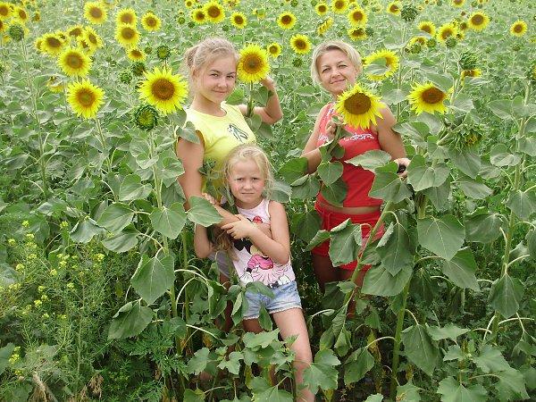 Фото - Моя семья: : Я, мама, младшая сестренка - Лерочка, 20 лет, Александрия