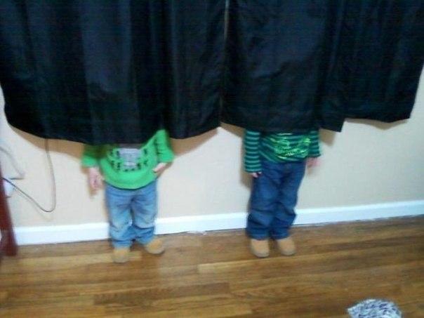 Детишки играют в прятки... - 6