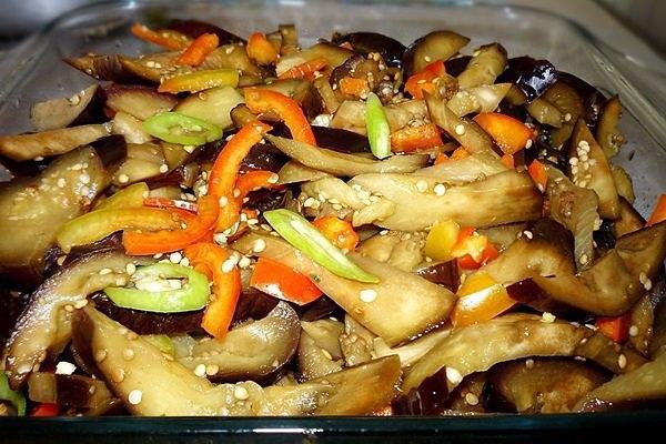 баклажаны по корейски рецепты приготовления с фото