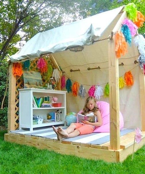 7 идей детских игр на свежем воздухе, сделанных своими руками - 5