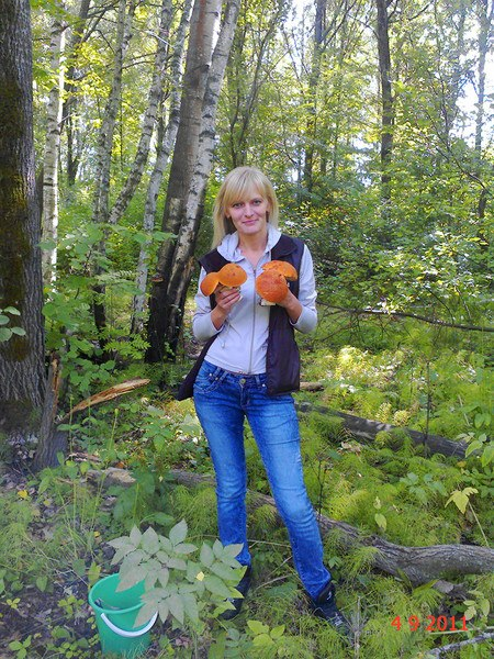 Фото: Таня, 43 года, Алексин в конкурсе «В лес по грибы»