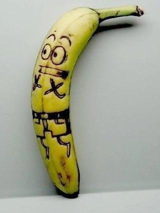 Порадуйте своих близких креативным посланием.Чтобы оставить записку на банане не обязательно ... - 5