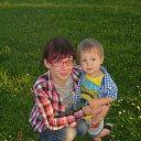 Я и мой сынулик)))