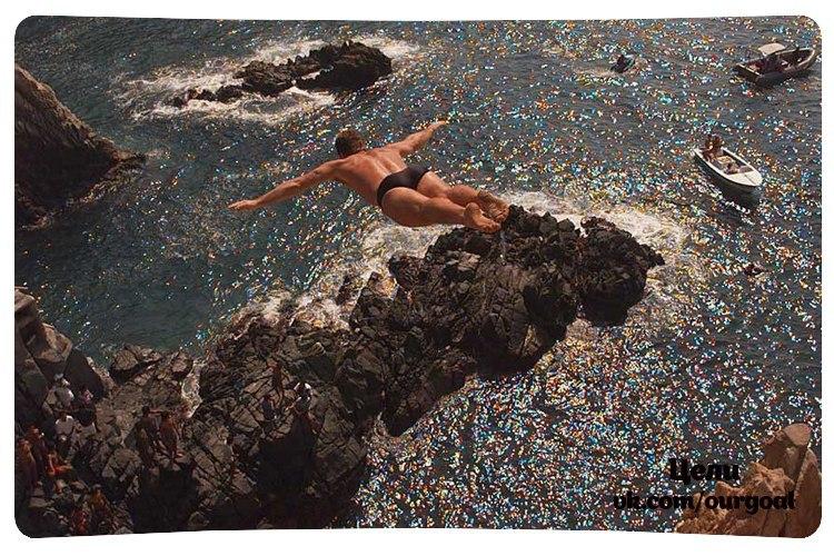 чего сон прыгаю с обрыва в воду патологию помогают