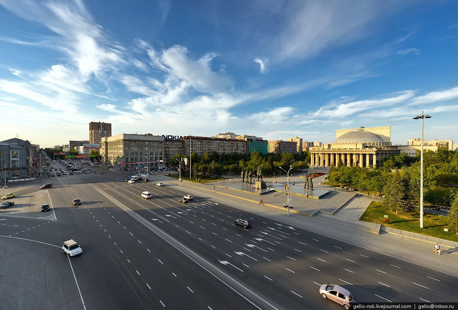 Новосибирск с высоты. - 3