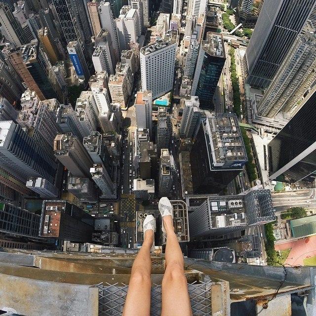 Гуляя по крышам Гонконга. - 4
