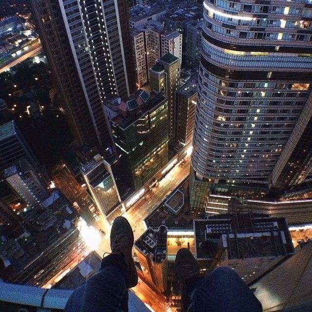 Гуляя по крышам Гонконга. - 2
