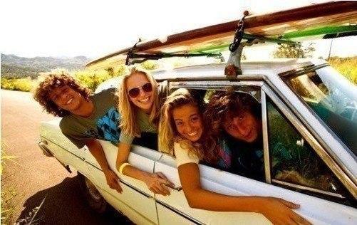 ...поехать в дорожное путешествие с друзьями