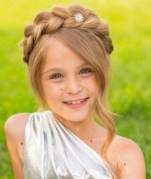 Модные прически для маленьких принцесс ? - 4