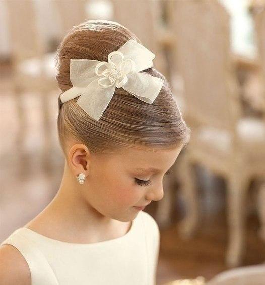 Модные прически для маленьких принцесс ? - 6