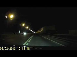 Авария: Lexus LX 570, Mazda 3, Mercedes Gelendewagen (Минское шосе, 04.10.14, около 23:00)