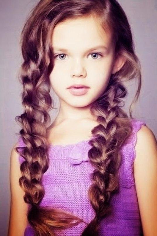 Модные прически для маленьких принцесс ? - 3