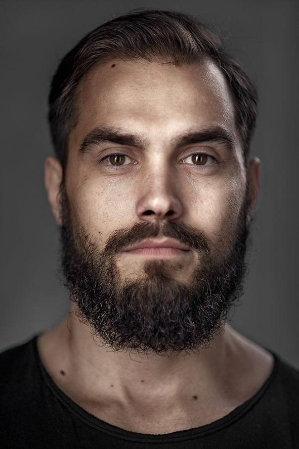 Портеры бородатых мужчин от фотографа Zia Vey - 6
