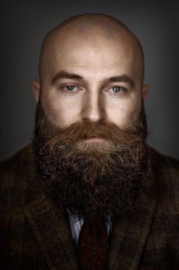 Портеры бородатых мужчин от фотографа Zia Vey - 7