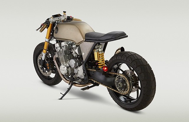 Кафе рейсер Honda CB750 Mr Hyde.Кафе рейсер Honda CB750 «Mr Hyde» построил Джон Риланд (John Ryland) ... - 3