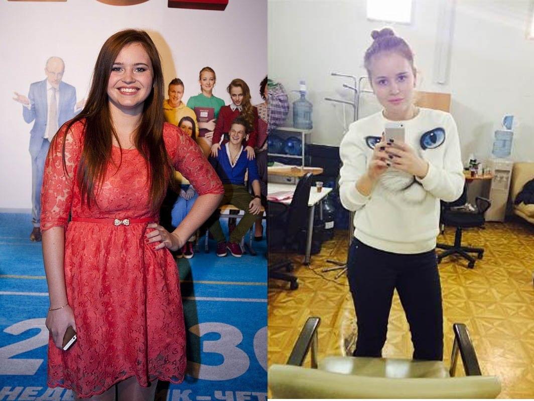 Фото Полины Гренц До Похудения. Как похудела Полина Гренц (Саша Мамаева) фото до и после