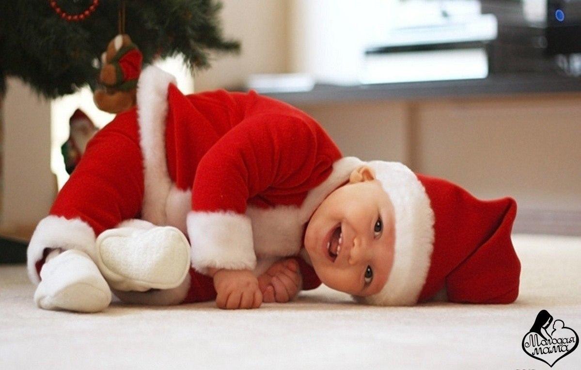 Дети и новый год картинки прикольные, открытка для
