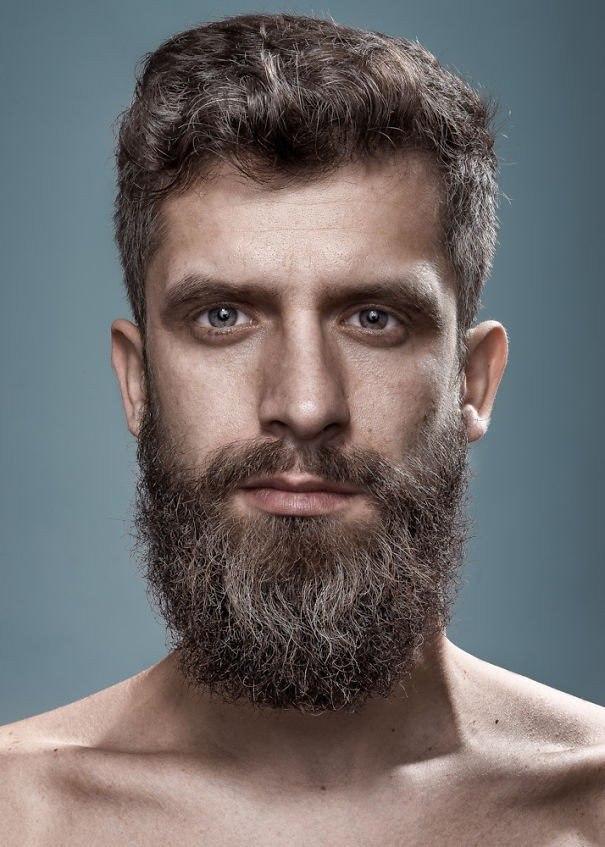Портеры бородатых мужчин от фотографа Zia Vey - 5