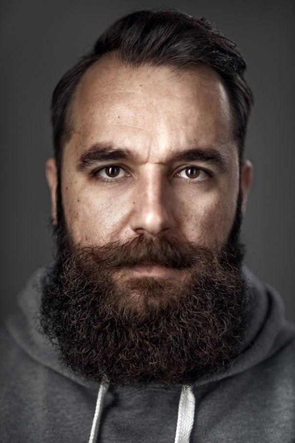 Портеры бородатых мужчин от фотографа Zia Vey - 10