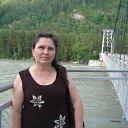 На мосту через реку Катунь.
