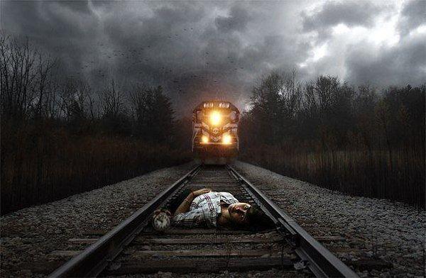 Картинки моя жизнь это поезд циррозе