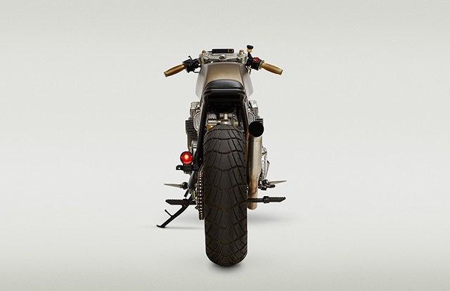 Кафе рейсер Honda CB750 Mr Hyde.Кафе рейсер Honda CB750 «Mr Hyde» построил Джон Риланд (John Ryland) ... - 4