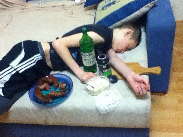что бывает с уснувшими или пьяными - 9