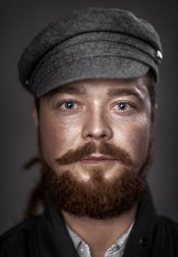 Портеры бородатых мужчин от фотографа Zia Vey - 4