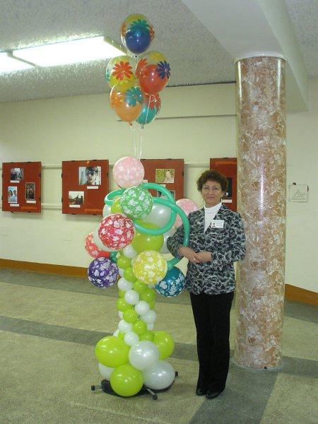Фото: Татьяна, 63 года, Заполярный в конкурсе «Воздушные шарики»