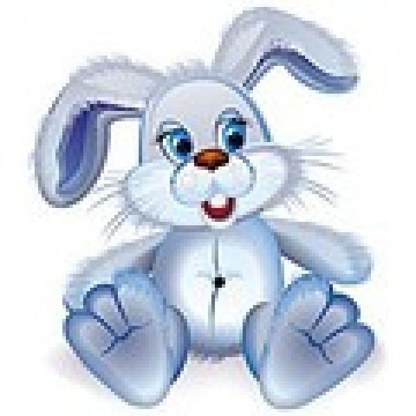 Мерцающие картинки, картинка анимация зайчика для детей