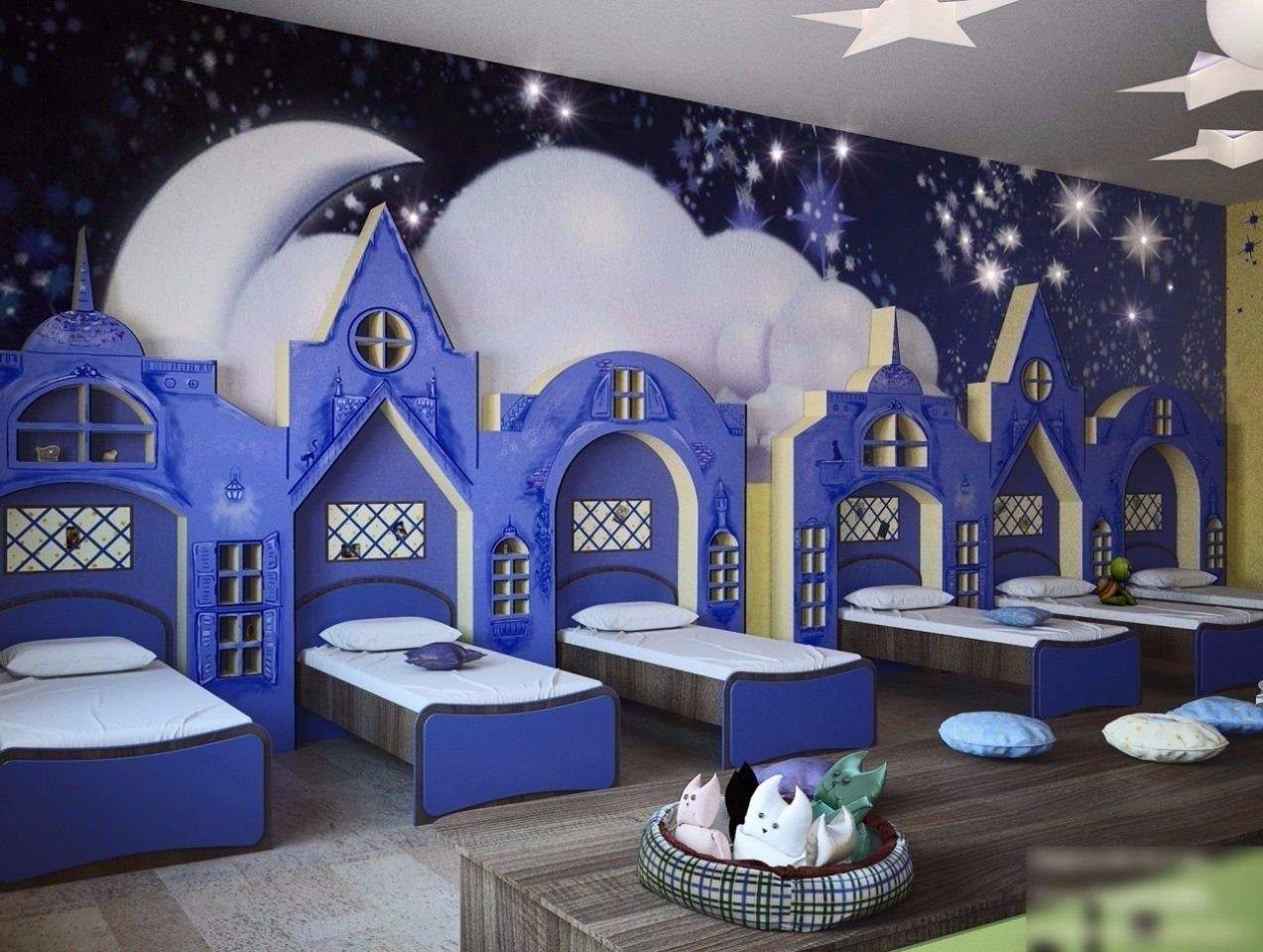 Картинки спальни детском саду