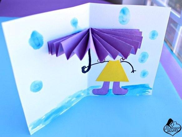 узнать размер открытка с зонтиком своими руками пошагово риска составляют