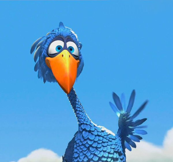 Открытка я синий птицы