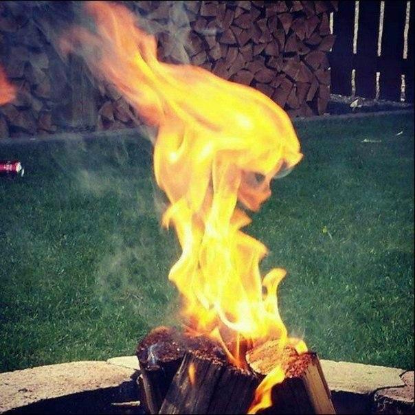 Лицо пламени