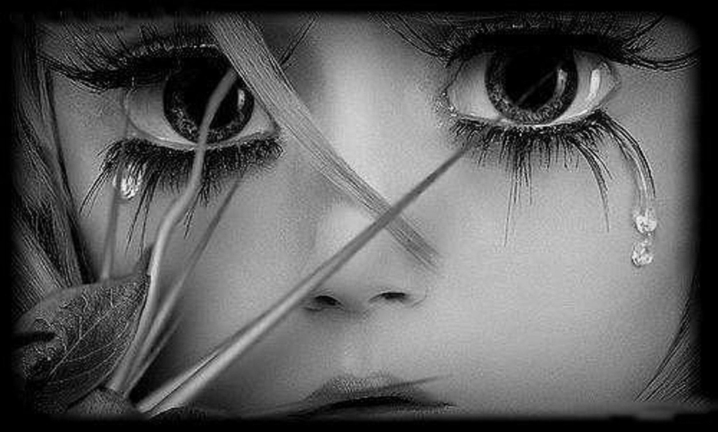 Картинки грустные про любовь со слезами