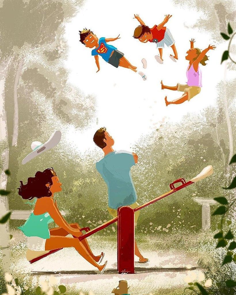 Счастливые моменты семьи картинки