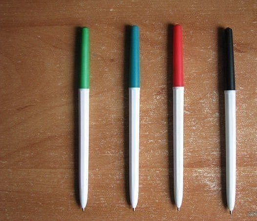 Шариковые ручки ссср фото