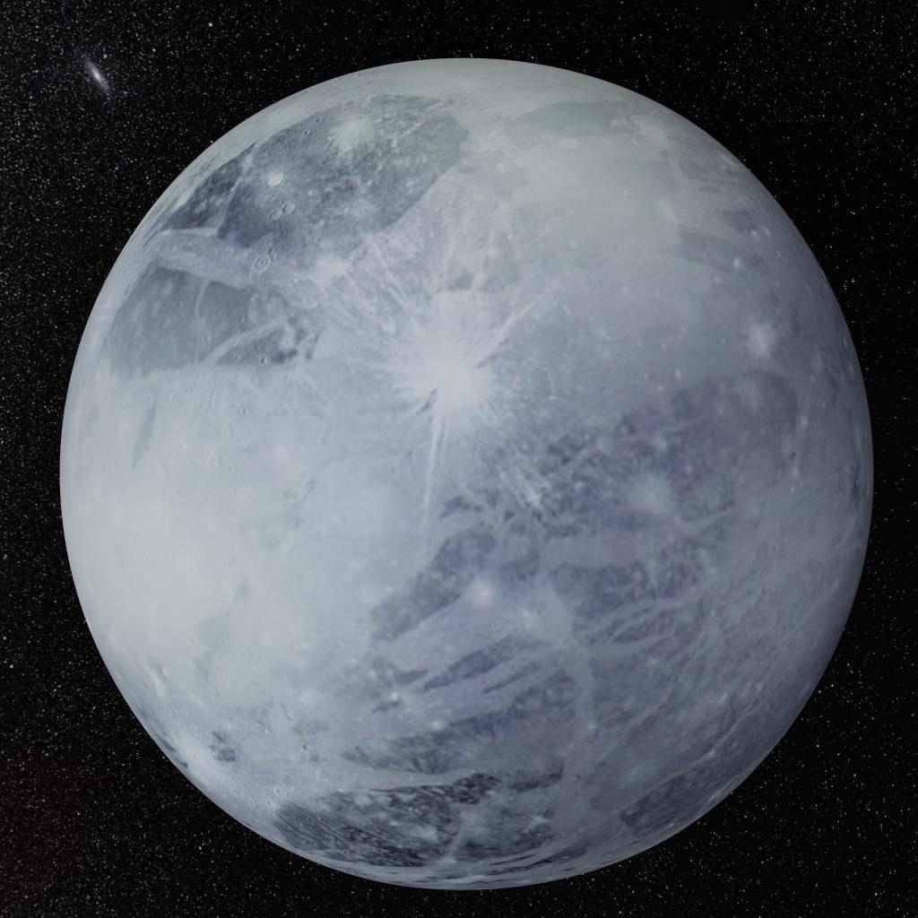 Как выглядит планета плутон фото