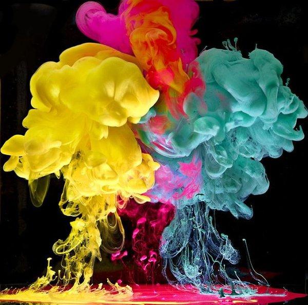 Фотки краски в воде кокошники