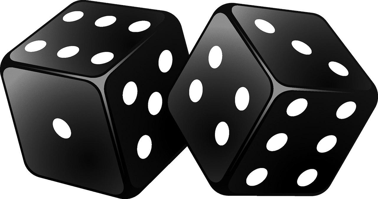 картинки кубиков для игры в кости отдают