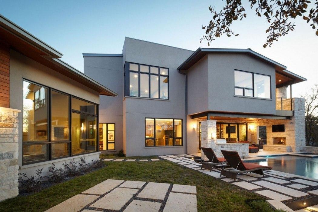 Современные дизайны домов фото